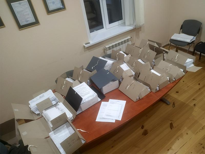 Упаковка технической документации для передачи заказчику
